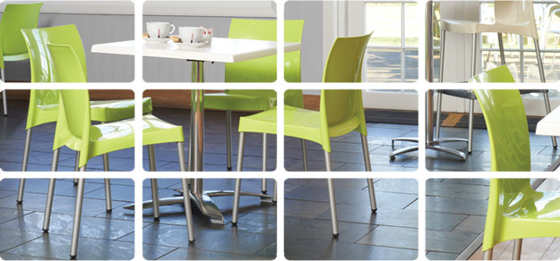 Bistro Seating and Restaurant Chairs for sale from OMM London