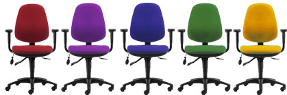 Pledge Solar Operator Seat  sc 1 st  OMM London Office supplies colour copiers Leasing photocopier Rentals & Pledge Office Chairs and Operator Seating for sale from OMM London ...